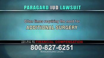 Knightline Legal TV Spot, 'Paragard IUD' - Thumbnail 5