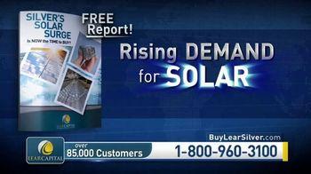 Lear Capital TV Spot, 'Solar Surge: $5,000 in Bonus Silver' - Thumbnail 6