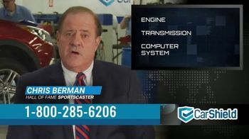 CarShield TV Spot, 'Stuck Paying Thousands' Featuring Chris Berman - 9 commercial airings