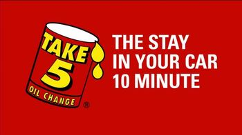 Take 5 Oil Change TV Spot, 'Start the New Year on a High Note' - Thumbnail 3