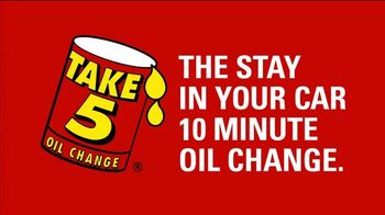 Take 5 Oil Change TV Spot, 'Start the New Year on a High Note' - Thumbnail 4
