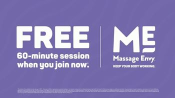 Massage Envy TV Spot, 'Working Hard: Free Session' - Thumbnail 9