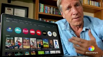 Discovery+ TV Spot, '55,000 Episodes' Featuring Mike Rowe - 500 commercial airings