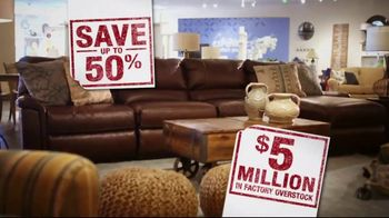 La-Z-Boy Inventory Overstock Sell Off TV Spot, 'Save 50%' - Thumbnail 5