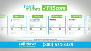 HealthMarkets Insurance Agency FitScore TV Spot, 'Expensive Dental Plans' Featuring Bill Engvall