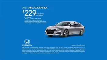 2021 Honda Accord TV Spot, 'Redesigned' [T2]