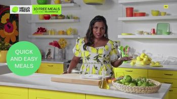 HelloFresh TV Spot, 'Meals With Mindy: Pork Tacos' Featuring Mindy Kaling - Thumbnail 5