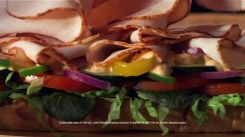 Subway TV Spot, 'Go Pro: Double the Protein on Footlongs or Protein Bowls for $2' - Thumbnail 3