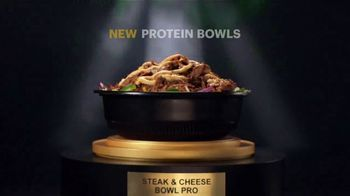 Subway TV Spot, 'Go Pro: Double the Protein on Footlongs or Protein Bowls for $2' - Thumbnail 4