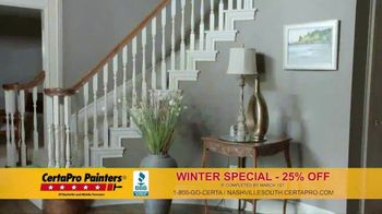 CertaPro Painters TV Spot, 'New Year: Winter Special'