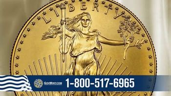 GovMint.com 2021 Gold American Eagle TV Spot, 'Moment in Time'