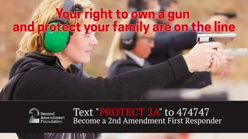Second Amendment Foundation (SAF) TV Spot, '2A First Responders' - 124 commercial airings