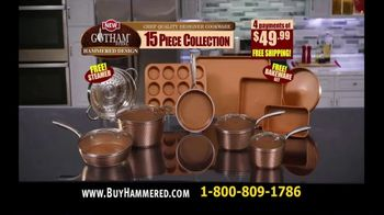 Gotham Steel Hammered Design TV Spot, '15 Piece Collection: $49.99' - Thumbnail 10