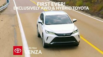 2021 Toyota Venza TV Spot, 'First of Its Kind' [T2] - Thumbnail 4