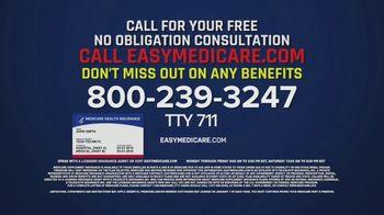 easyMedicare.com TV Spot, 'Benefits Update: Menu' Featuring Joe Theismann - Thumbnail 9