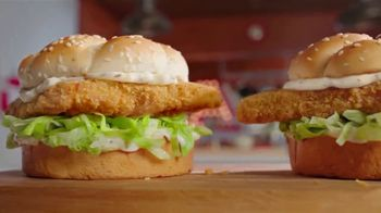 Arby's 2 for $6 Crispy Fish Sandwiches TV Spot, 'Catching Crispy, Flaky Fish' Song by YOGI - Thumbnail 1