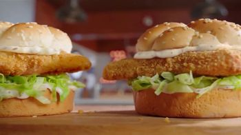 Arby's 2 for $6 Crispy Fish Sandwiches TV Spot, 'Catching Crispy, Flaky Fish' Song by YOGI - Thumbnail 2