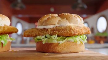 Arby's 2 for $6 Crispy Fish Sandwiches TV Spot, 'Catching Crispy, Flaky Fish' Song by YOGI - Thumbnail 3