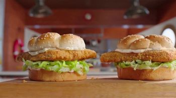 Arby's 2 for $6 Crispy Fish Sandwiches TV Spot, 'Catching Crispy, Flaky Fish' Song by YOGI - Thumbnail 4