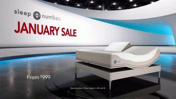 Sleep Number January Sale TV Spot, 'Snoring: Save $1,000' - Thumbnail 2