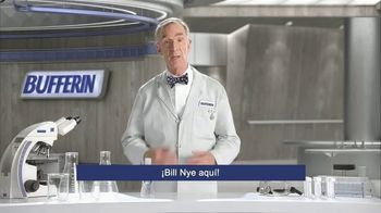 Bufferin Hand Sanitizer TV Spot, 'The Science of Healthy Hands' Featuring Bill Nye - Thumbnail 1
