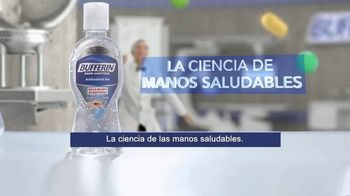 Bufferin Hand Sanitizer TV Spot, 'The Science of Healthy Hands' Featuring Bill Nye - Thumbnail 8