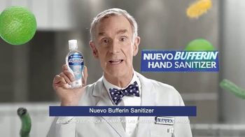 Bufferin Hand Sanitizer TV Spot, 'The Science of Healthy Hands' Featuring Bill Nye - Thumbnail 3