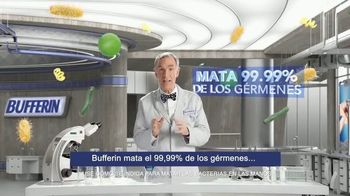 Bufferin Hand Sanitizer TV Spot, 'The Science of Healthy Hands' Featuring Bill Nye - Thumbnail 4