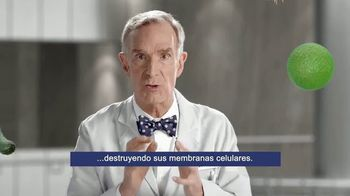 Bufferin Hand Sanitizer TV Spot, 'The Science of Healthy Hands' Featuring Bill Nye - Thumbnail 5