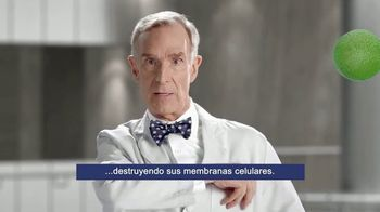 Bufferin Hand Sanitizer TV Spot, 'The Science of Healthy Hands' Featuring Bill Nye - Thumbnail 6