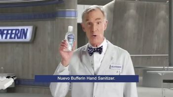Bufferin Hand Sanitizer TV Spot, 'The Science of Healthy Hands' Featuring Bill Nye - Thumbnail 7