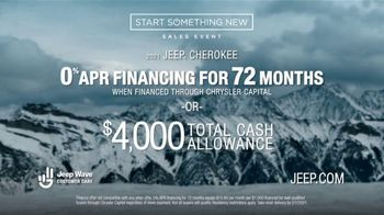 Jeep Start Something New Sales Event TV Spot, \'Easy Mountain\' [T2]