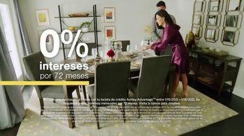 Ashley HomeStore Sale + Clearance TV Spot, 'Mesa de comedor y sofás' [Spanish] - Thumbnail 6