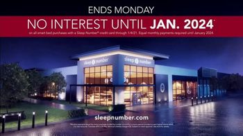 Sleep Number Lowest Prices of the Season TV Spot, 'New Year's Special: Balance: Save up to $1,000' - Thumbnail 9