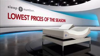 Sleep Number Lowest Prices of the Season TV Spot, 'New Year's Special: Balance: Save up to $1,000' - Thumbnail 1