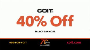 COIT TV Spot, 'Different Times: 40% Off' - Thumbnail 8