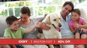 COIT TV Spot, 'Different Times: 40% Off'