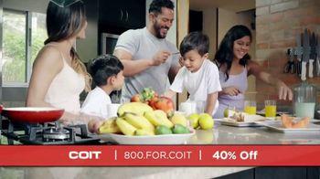 COIT TV Spot, 'Different Times: 40% Off' - Thumbnail 6