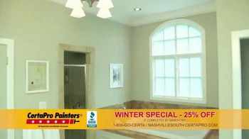 CertaPro Painters Winter Special TV Spot., 'New Year: Interior Project'