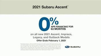2021 Subaru Ascent TV Spot, 'Important Moments' [T2] - Thumbnail 8