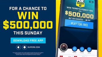 FOX Bet Super 6 TV Spot, 'Six Outcomes: $500,000 and Terry's 2021 F-150' - Thumbnail 3
