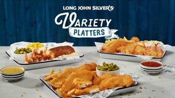 Long John Silver's Variety Platters TV Spot, 'Treasured Moment'