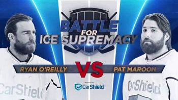 CarShield TV Spot, 'Battle for Ice Supremacy' feat. Ryan O'Reilly, Pat Maroon, Darren Pang - Thumbnail 2