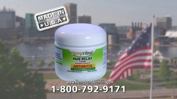 Hempvana Arthritis Pain Relief Cream TV Spot, 'Powerful New Formula'