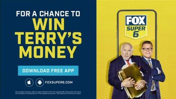 FOX Super 6 NFL Sunday Challenge TV Spot, 'Win Terry's Money: $100,000' - Thumbnail 6