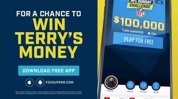 FOX Super 6 NFL Sunday Challenge TV Spot, 'Win Terry's Money: $100,000' - Thumbnail 5