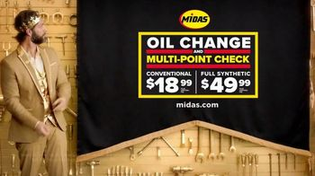 Midas TV Spot, 'Feel Like a King: Oil Change and Multi-Point Check' - Thumbnail 9