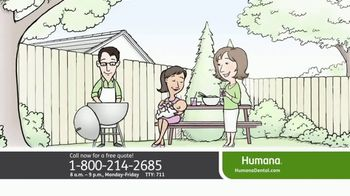 Humana TV Spot, 'Affordable Dental Insurance With the Coverage You Need'