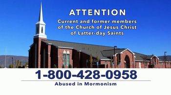 AVA Law Group, Inc TV Spot, 'Abused in Mormonism: Suffer in Silence' - Thumbnail 3