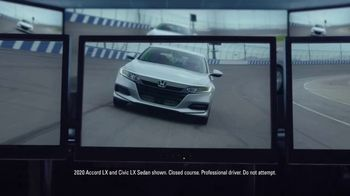 Happy Honda Days Sales Event TV Spot, 'Serious: Accord and Civic' [T2]
